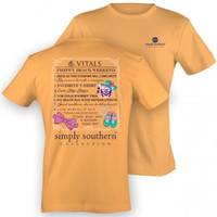 Simply Southern Beach Weekend Tee - Yellow