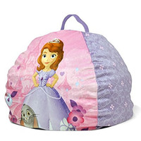"Disney Sofia the First Toddler Bean Bag, 18"" x 18"" x 18"""