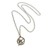 Long Hunger Games Charm Necklace
