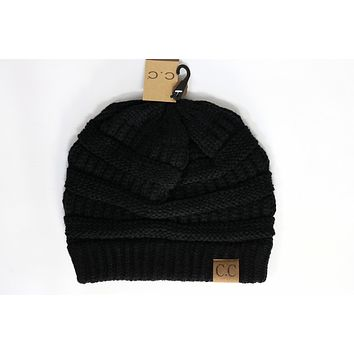 Classic Solid Beanie Hat