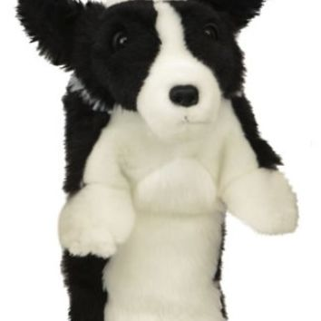 Border Collie Golf Club Head Cover