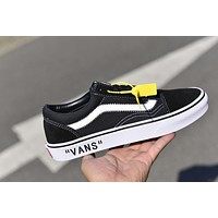 Vans OLD Skool x OFF-WHITE Skateboarding Shoes 36-44