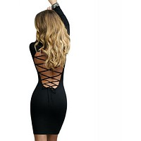 Women Long Sleeve Party Dress