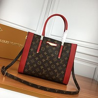 LV Louis Vuitton WOMEN'S MONOGAM CANVAS HANDBAG SHOULDER BAG