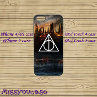 iphone 4 case,iphone 4s case,cute iphone 4 case,iphone 5 case,cute iphone 5 case,Harry Potter,ipod 4,ipod 5 case,in plasitc and silicone.