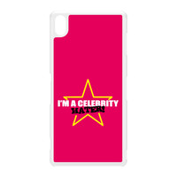Celebrity Hater White Hard Plastic Case for Sony Xperia Z3 by Chargrilled