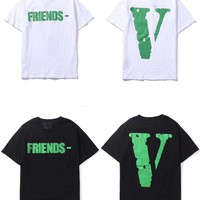 hcxx 1091 Vlone Casual Fashion Skateboard T Shirt