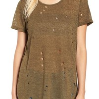 Fire Destroyed Short Sleeve Tee | Nordstrom