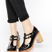 Truffle Collection Anya T Bar Heeled Shoes