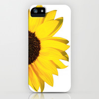 yellow & white summer iPhone & iPod Case by Steffi ~ FindsFUNDSTUECKE