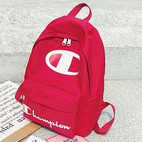 Champion  Fashion Casual Simple School Backpack Travel Bag
