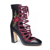 Chinese Laundry Sylvia Leather Lace- Up Bootie | Chinese Laundry