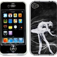 Ballerina Ballet Dancer Handmade iPhone 4 4S Black Case