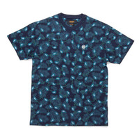 10 Deep: New Standard T Shirt - Navy Paisley
