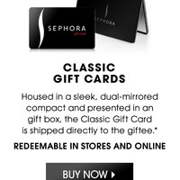 Gift Cards: Buy a Gift Card | Sephora