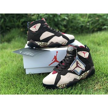 Patta X Air Jordan 7 Retro Og Sp Shimmer | At3375 200 Sneakers