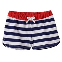 Jumping Beans Patriotic Slubbed Shorts - Girls