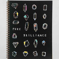 Pure Brilliance Spiral Notebook- Assorted One