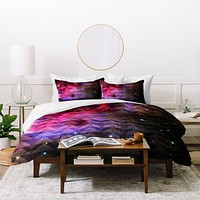 Caleb Troy Tribal Galaxy Elevator Duvet Cover