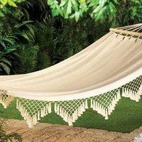 Cape Cod Canvas Hammock  from Jannie's LiveDeals