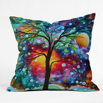 Madart Inc. A Moment In Time Throw Pillow