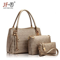 Luxury Handbags Women Bags Designer Female Bag Hobo Tote Set Top-handle shoulder bags Handbag+Messenger Bag+Purse sac a main