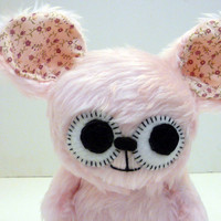 Eliza the pink monster by MonstersEtc on Etsy