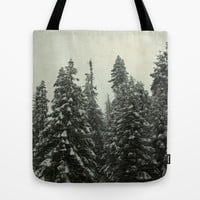 First Snow Tote Bag by Shawn King