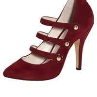 Vince Camuto Jamily Mary Jane in Burgundy — Shoebox