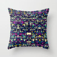 Matchmaker Throw Pillow by Glanoramay