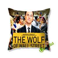 Leonardo Dicaprio The Wolf Of Wall Street Square Pillow Cover