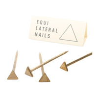Equilateral Triangle Nails - Catbird