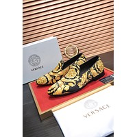 Versace Men's 2021 NEW ARRIVALS Business Casual Leather Shoes