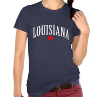 LOUISIANA LOVE STATE TEE