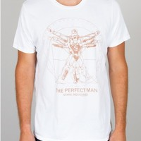 Captain America The Perfect Man Tee - New Arrivals - Mens