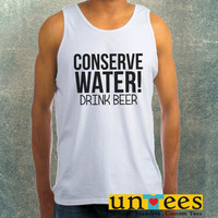 Beer Quotes Clothing Tank Top For Mens
