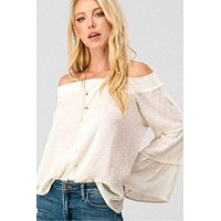 Bohemian Flow Off Shoulder Top