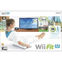 Nintendo - Wii Fit U Game with Wii Balance Board and Fit Meter