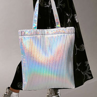 Pleated Tote Bag | Urban Outfitters