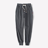 Women Stretch Sportswear Solid Color Drawstring Jogger Pants