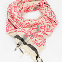 Urban Outfitters - Leigh & Luca Printed Square Scarf