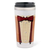 Doctor Who 11th Doctor Bowtie Travel Mug