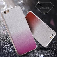 Gradient Color Design TPU Silicon Phone Case for Apple iPhone 6 6s 4.7inch