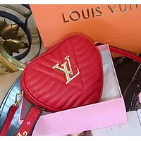 LV Louis Vuitton Tide Brand Couple Love Pockets Shoulder Bag Messenger Bag