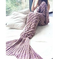 Winter Mermaid Party to Be Adored Blanket
