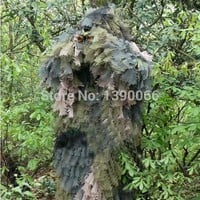 Sniper Tactical camouflage 3D Jungle Ghillie Suits Hunting clothes camo suit hunting equipment for bow hunt