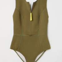 H&M Scuba-look Swimsuit $39.99
