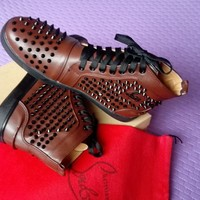 Christian Louboutin Women  Men Fashion Casual  tall help shoes