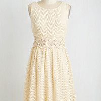 Festival Mid-length Sleeveless A-line Kind of a Zig Deal Dress by ModCloth