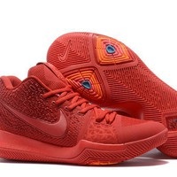 nike kyrie irving 3 moving red basketball shoe us7 12